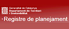 Registre planejament